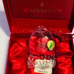 Waterford Crystal Lismore 12 Days Christmas Swans